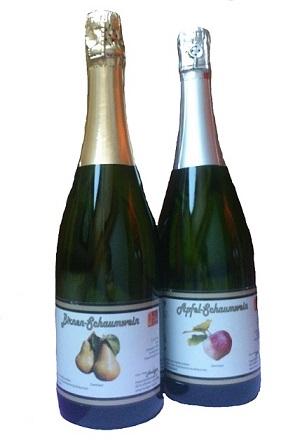 Apfel- Birnenschaumwein